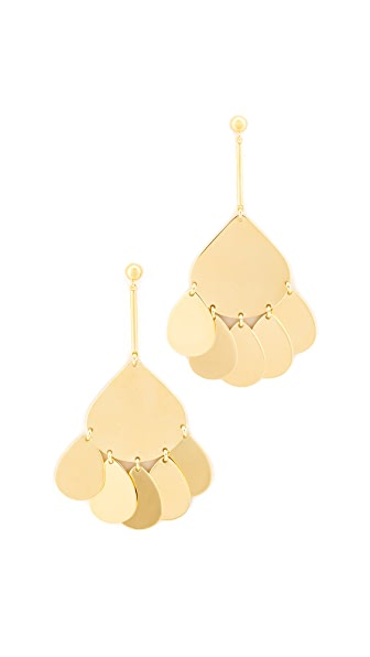 Elizabeth and James Lyle Earrings - Gold