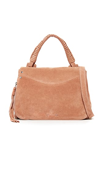 Elizabeth and James Trapeze Small Top Handle Bag - Twig