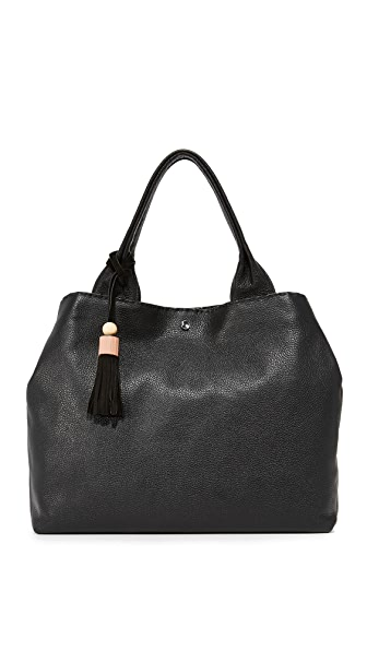 Elizabeth and James Teddy Tote - Black