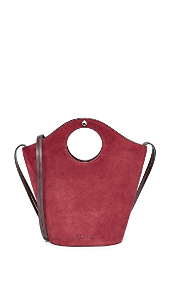 Elizabeth and James Small Market Shopper Tote - Plum