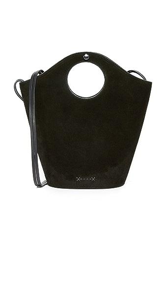 Фото Elizabeth and James Небольшая объемная сумка-шоппер Market с короткими ручками. Купить с доставкой