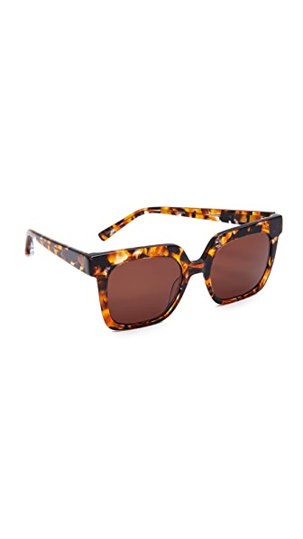 Elizabeth and James Rae Sunglasses - Mottled Tort/Brown Mono