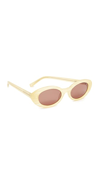 Elizabeth and James McKinley Sunglasses In Sunshine Horn/Brown Mono