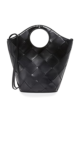 Elizabeth and James Market Shopper Tote - Black