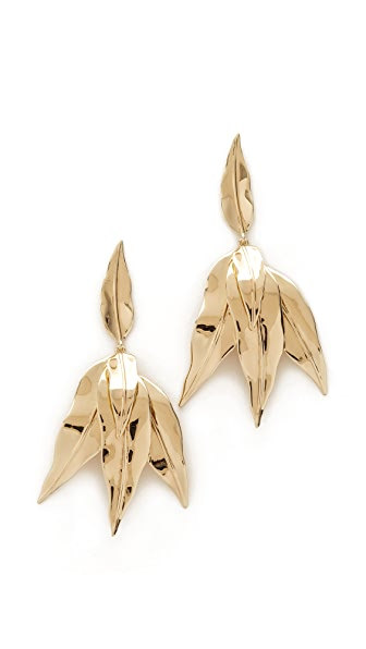 Elizabeth and James Asher Earrings - Gold