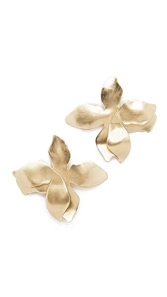 Elizabeth and James Dalia Earrings - Gold