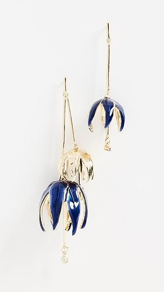 Elizabeth and James Ari Elm Earrings In Blue