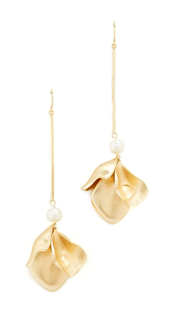 Elizabeth and James Posy Earrings