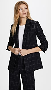 Elizabeth and James Capprice Window Pane Blazer