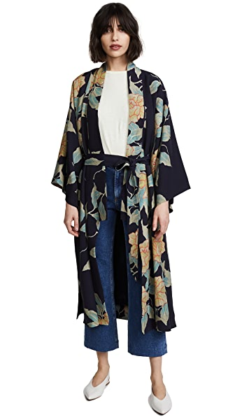 Elizabeth and James Zoe Kimono In Large Floral