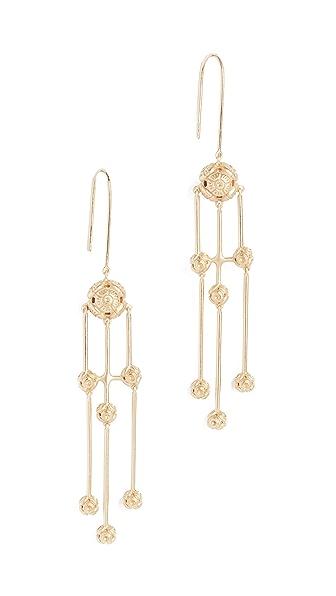 Elizabeth and James Kaya Earrings In Gold