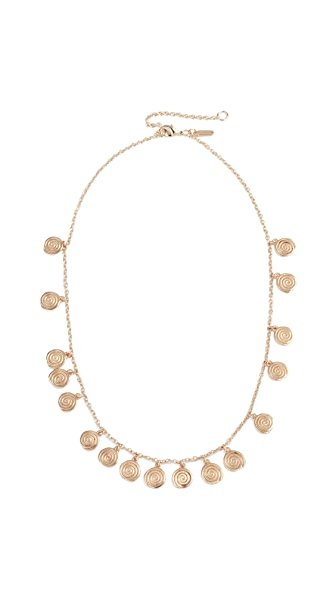 Elizabeth and James Reeves Necklace In Gold