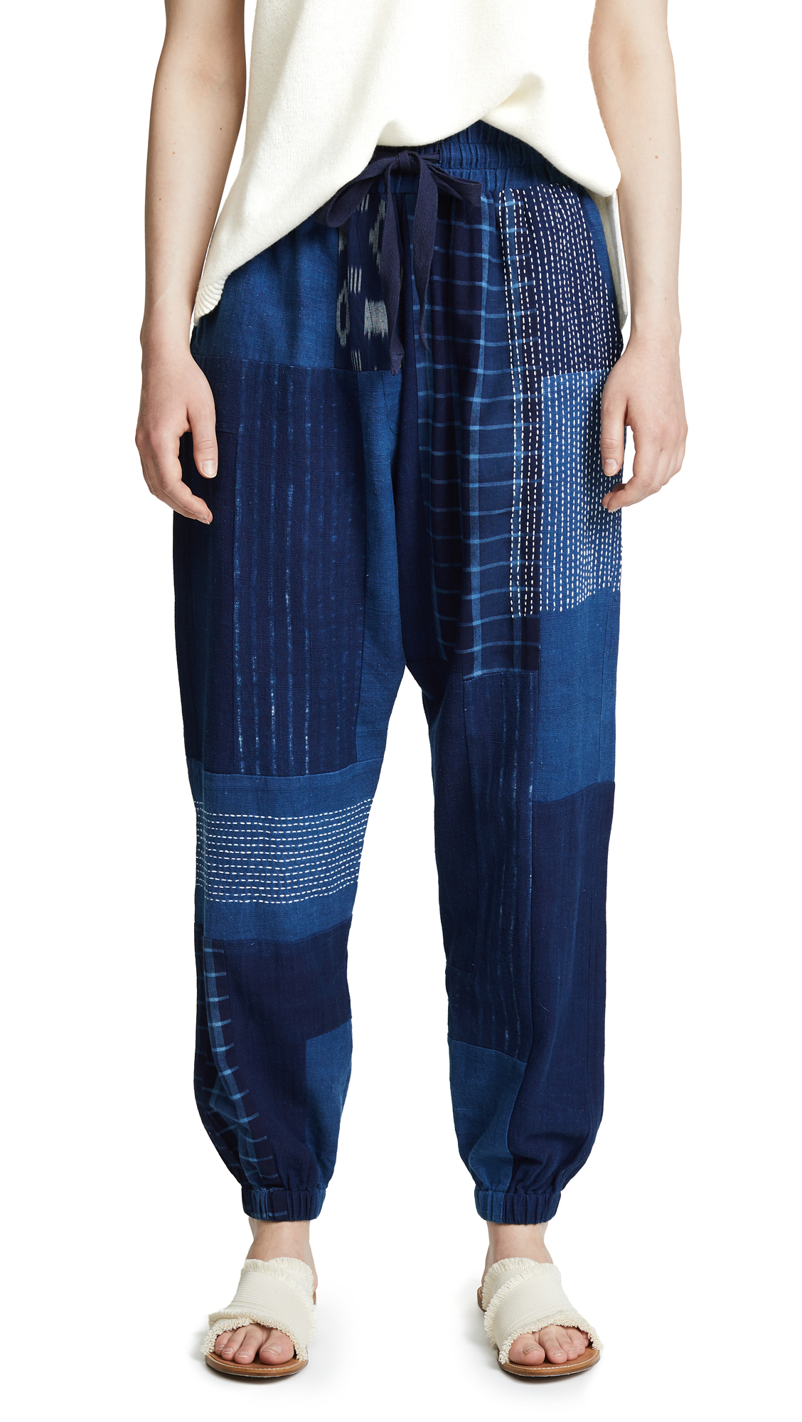 Elizabeth and James Bedford Pants In Dark Indigo