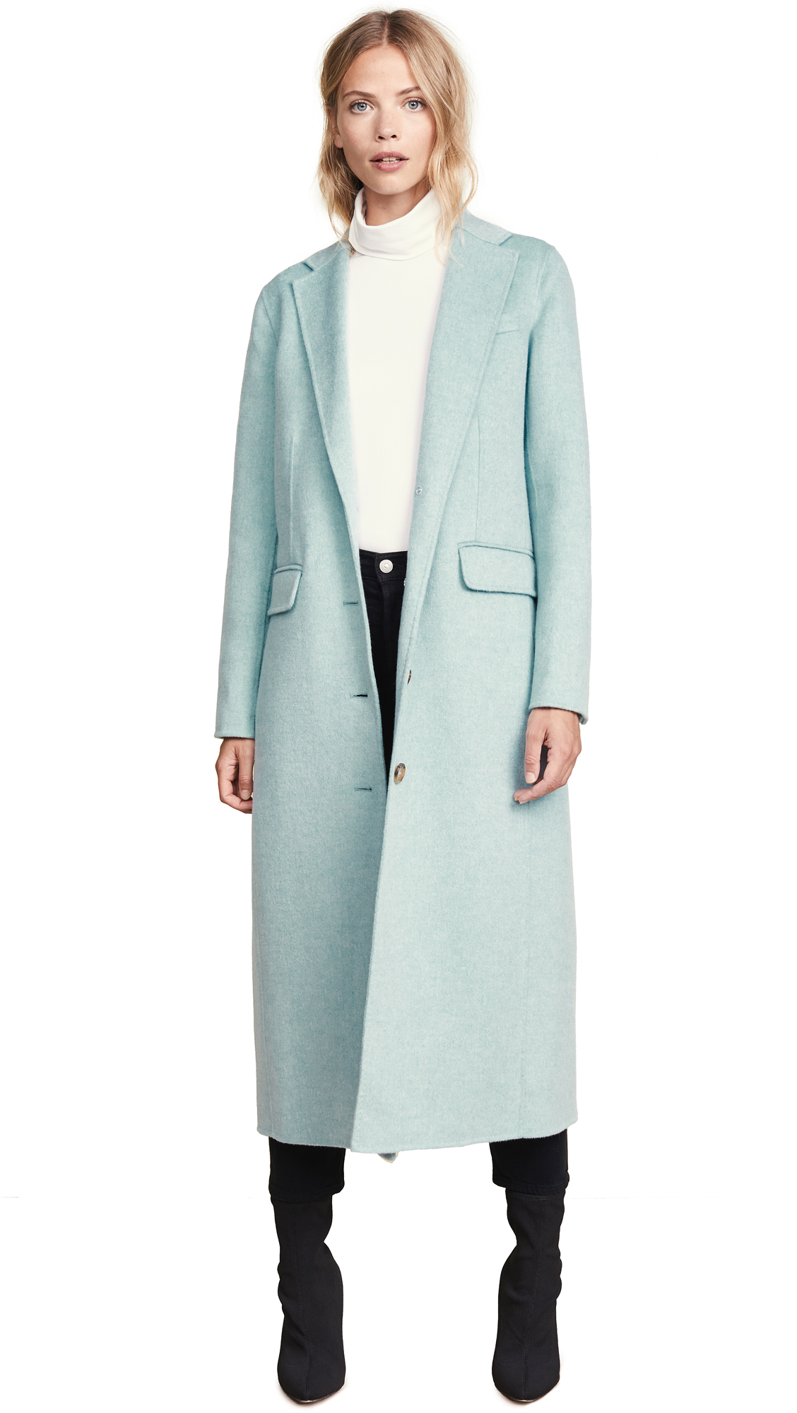Elizabeth and James Russell Coat In Celadon