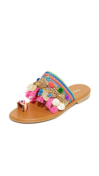 Elina Linardaki Jaipur Toe Ring Sandals