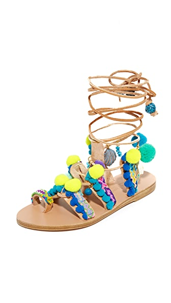 Elina Linardaki Mermaid Motel Gladiator Sandals - Multi