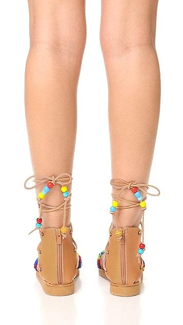Elina Linardaki Picolo Gladiator Sandals