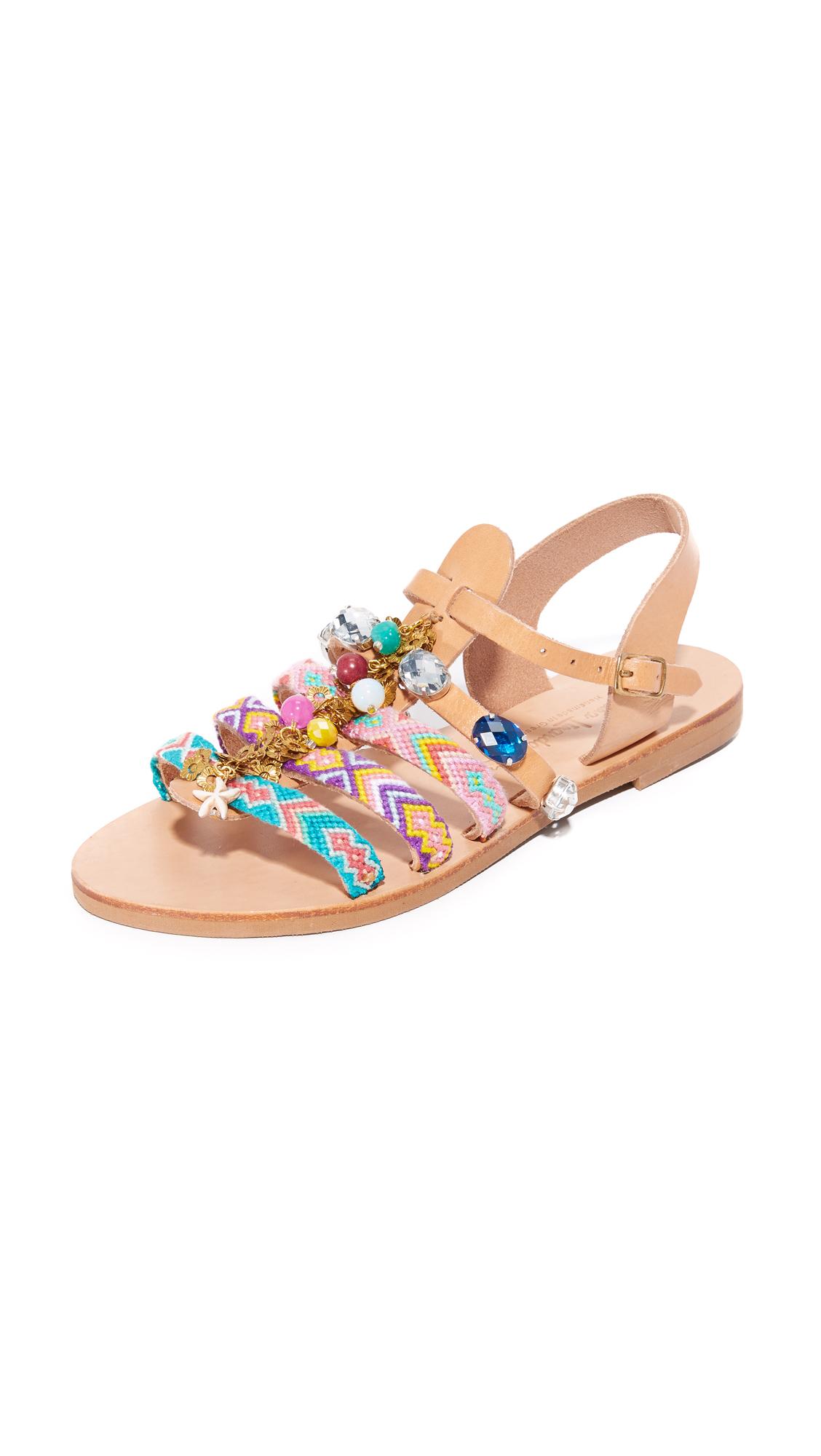Elina Linardaki Astarte II Sandals - Multi