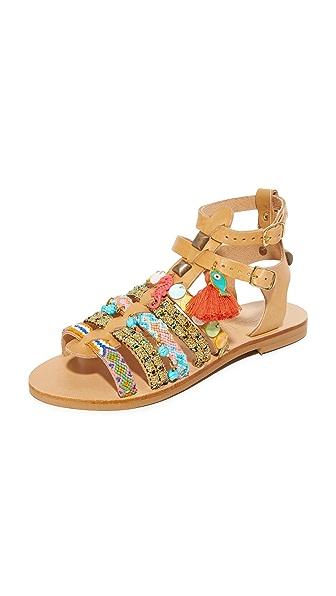 Elina Linardaki Saltwater Sandals - Multi