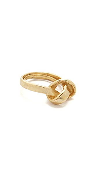 Elizabeth Cole Knotted Ring