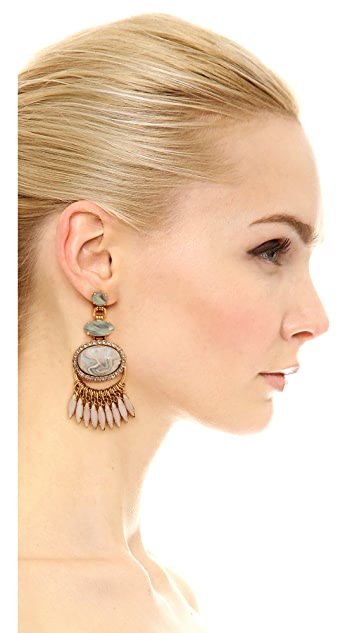 Elizabeth Cole Charlotte Earrings