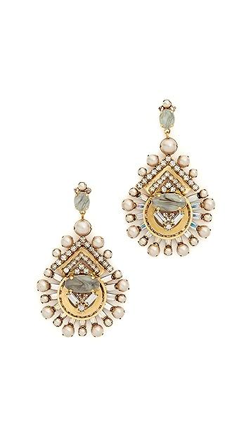 Elizabeth Cole Ava Earrings