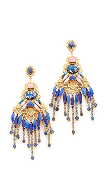 Elizabeth Cole Alessandra Earrings