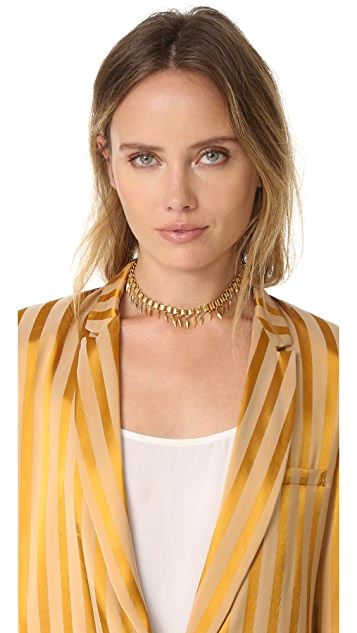 Elizabeth Cole Herook Choker Necklace