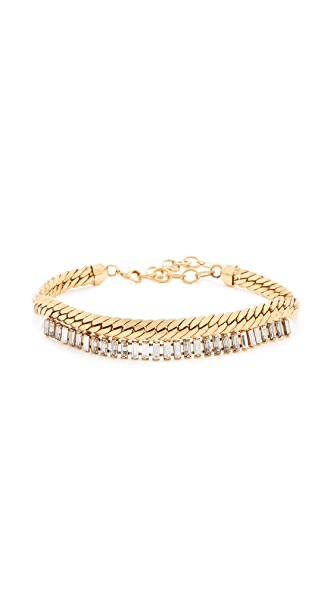 Elizabeth Cole Brix Choker Necklace