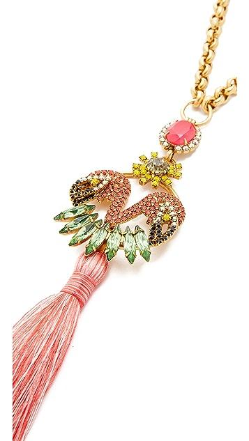 Elizabeth Cole Saffron Necklace
