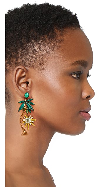 Elizabeth Cole Pamela Earrings