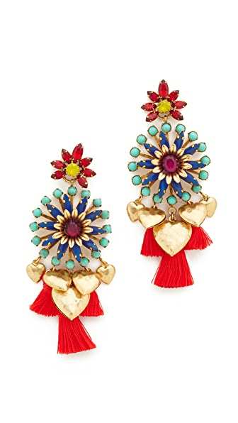 Elizabeth Cole Kela Earrings