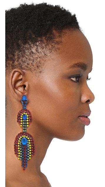 Elizabeth Cole Danica Statement Earrings