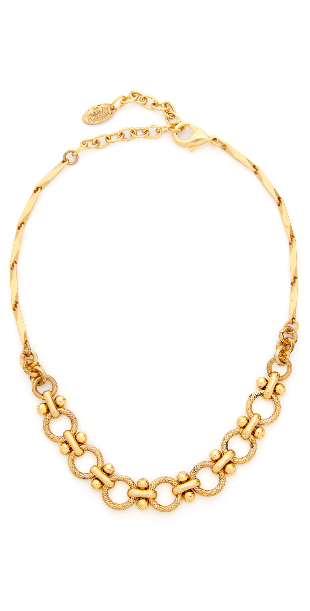 Chain Choker Necklace Elizabeth Cole