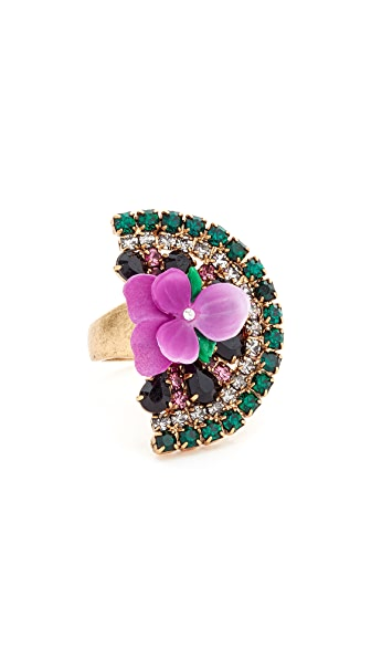 Elizabeth Cole Watermelon Ring