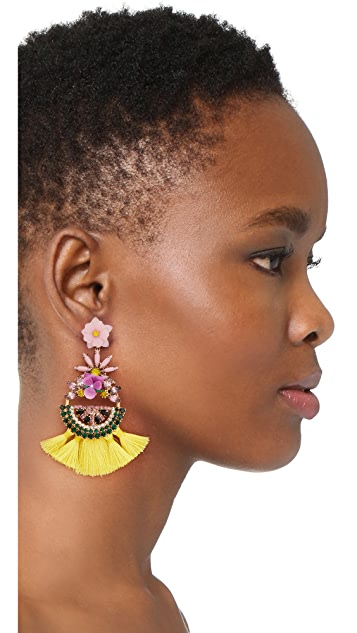 Elizabeth Cole Watermelon Earrings