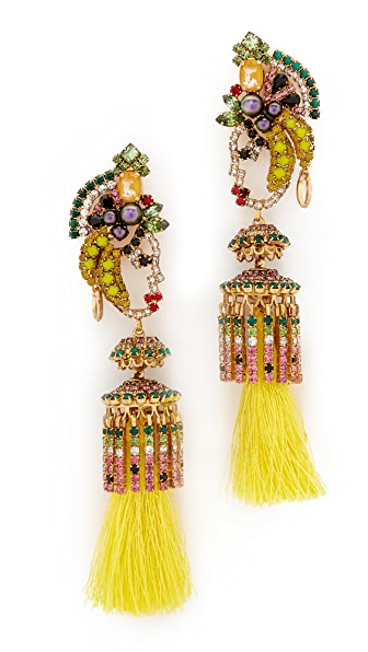 Elizabeth Cole Lola Tassel Earrings