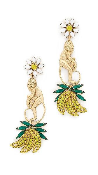 Elizabeth Cole Banyan Earrings