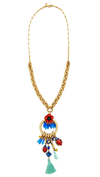 Elizabeth Cole Celina Necklace In Poppy