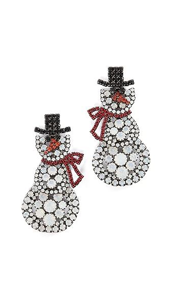 Elizabeth Cole Frosty Earrings