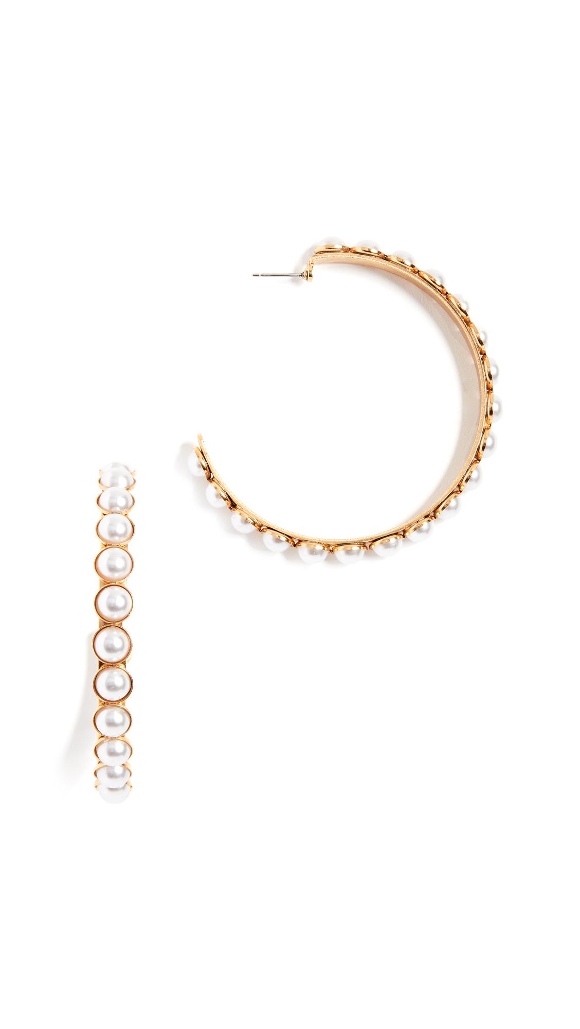 Elizabeth Cole Pearlie Earrings