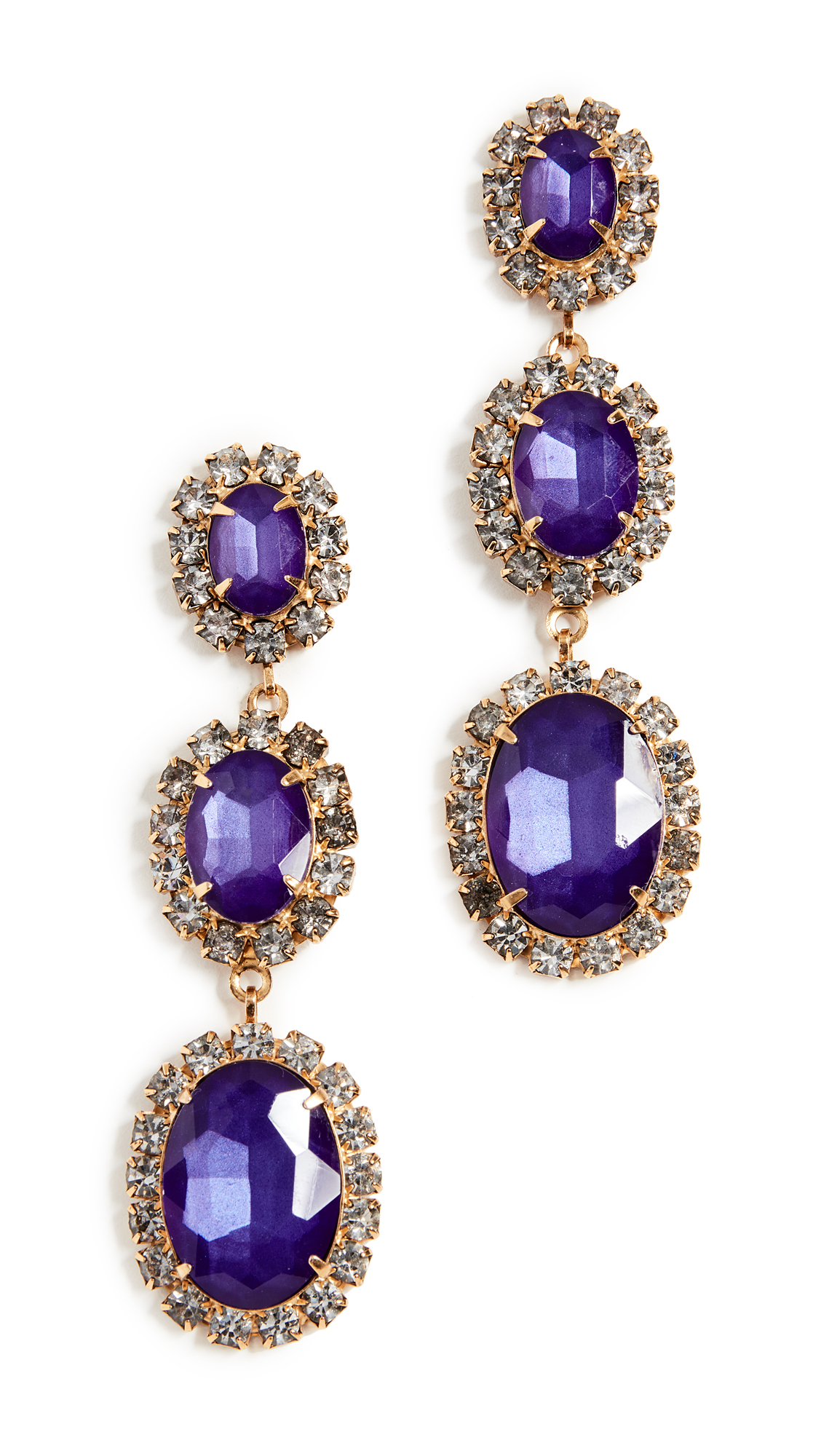ELIZABETH COLE LAWRENCE EARRINGS