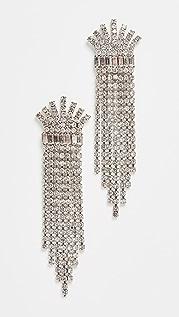 Elizabeth Cole Crystal Earrings