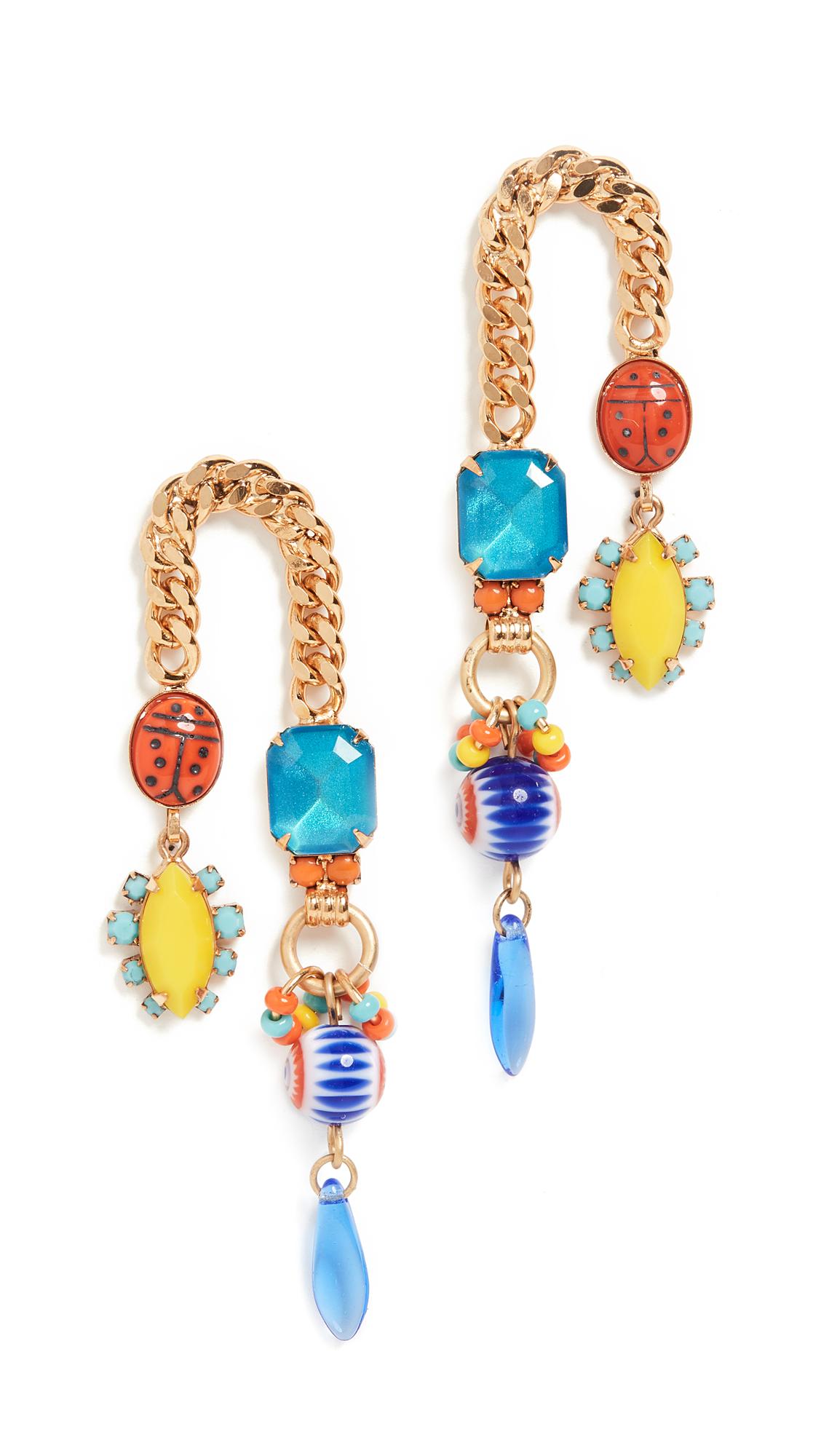 Elizabeth Cole Dalia Earrings In Frida