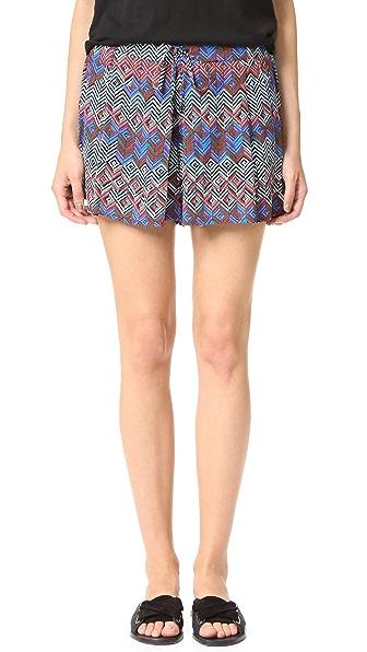 Ella Moss Kaliso Shorts - Seaport