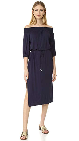 Ella Moss Bella Midi Dress - Navy