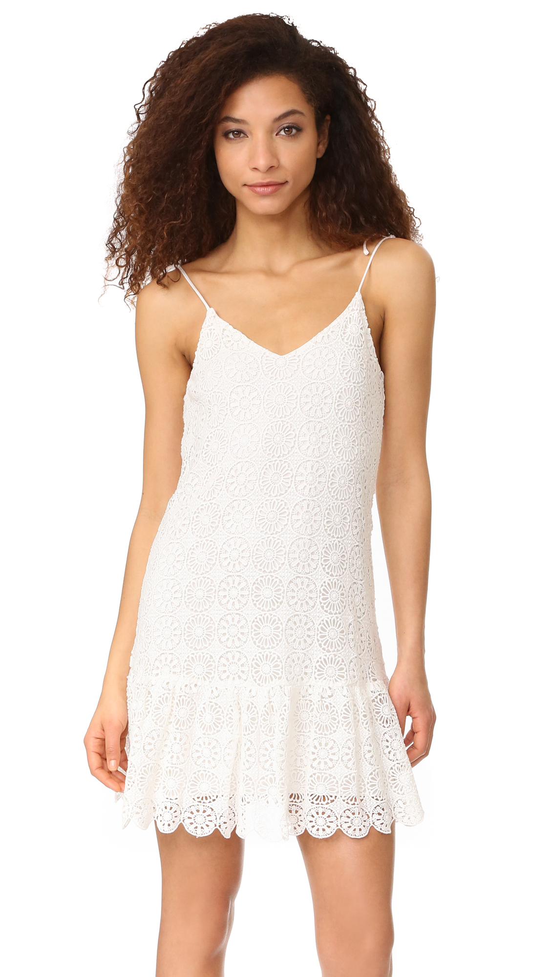 Ella Moss Medallion Crochet Dress