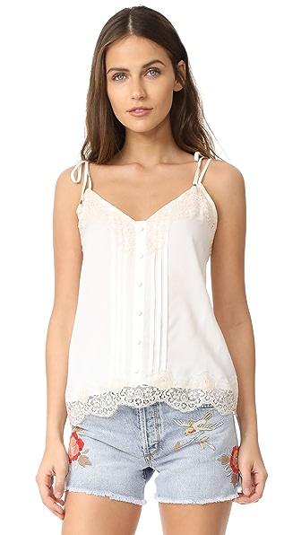 Ella Moss Trinity Cami In White