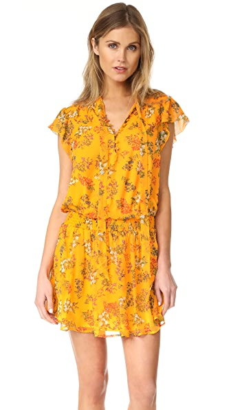 Ella Moss Poetic Garden Dress - Mustard