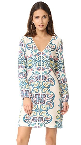 Ella Moss Lover Tapestry Dress - Natural